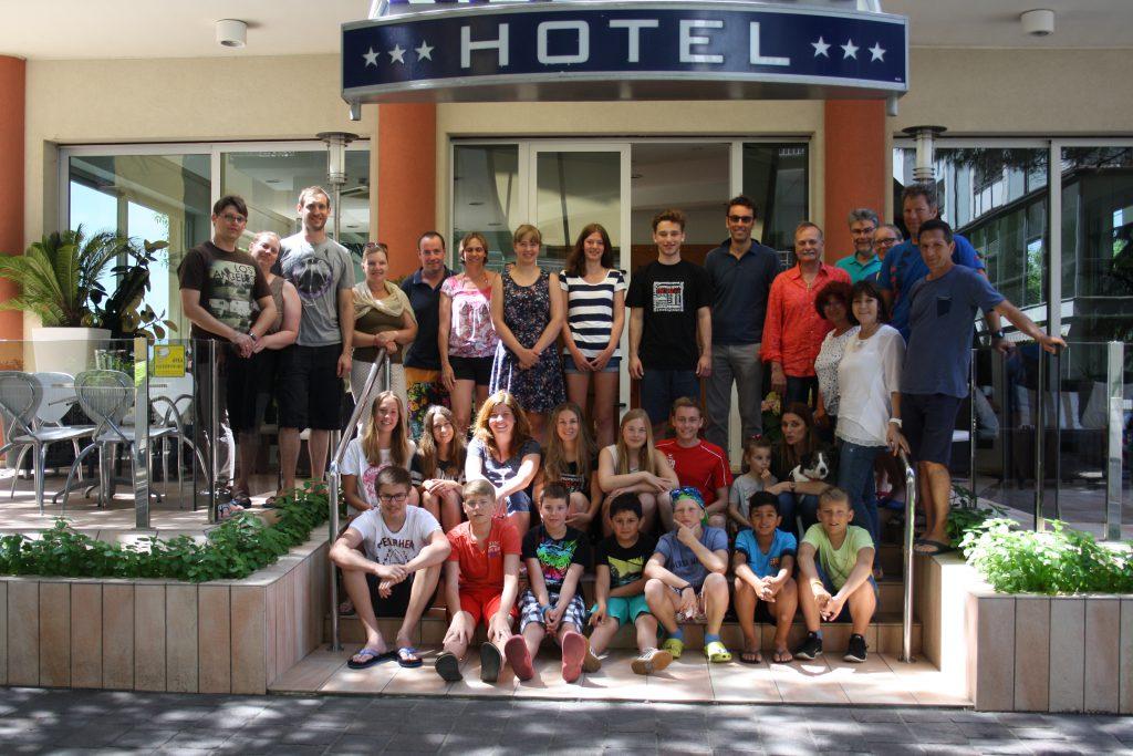 Gruppenbild Hotel Riviera